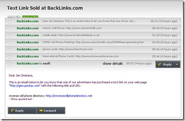 BackLink sold