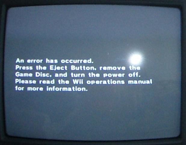 how to fix wii u disc read error