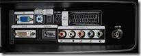 T240HD connectiques arriere
